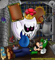 Luigi's Mansion - Good night by Princesa-Daisy