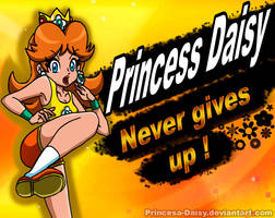 Princess Daisy for Super Smash Bros Ultimate by Princesa-Daisy