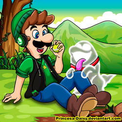 Luigi and Nicco by Princesa-Daisy