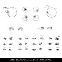 Drawing eyes by NImportant