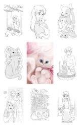 Meringue - illustrations by NImportant