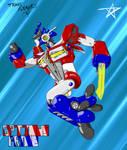 Optimus Prime - Complete by InvincibleSoul