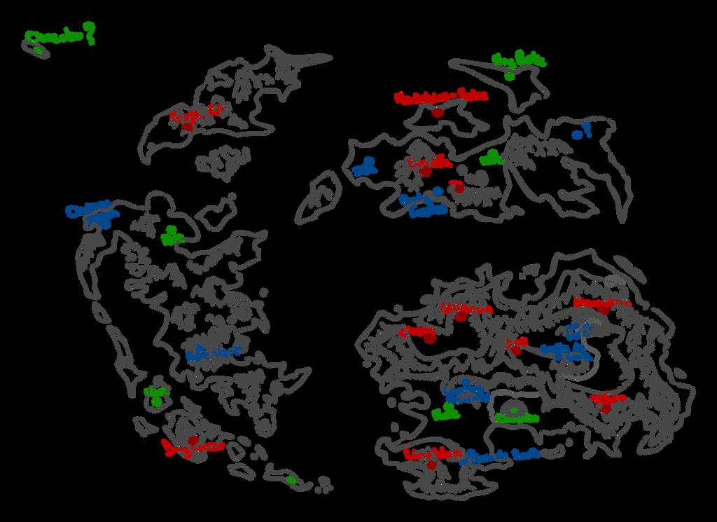 Final Fantasy IX World Map - Cosplay purpose by Misuto-Gesshoku on ...