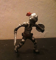 Goblin Slayer in Clay by therick96