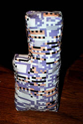 Missingno. Plushie by Pyroluminescence
