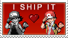 RemakeShipping stamp by Pyroluminescence