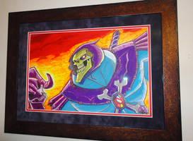 Skeletor Framed by rayne-gallows