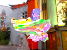 Opal Dragon by graphrainbow