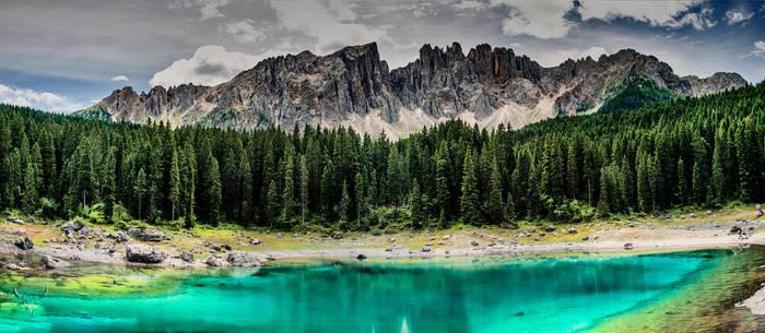 Lago di Carezza color by vw1956