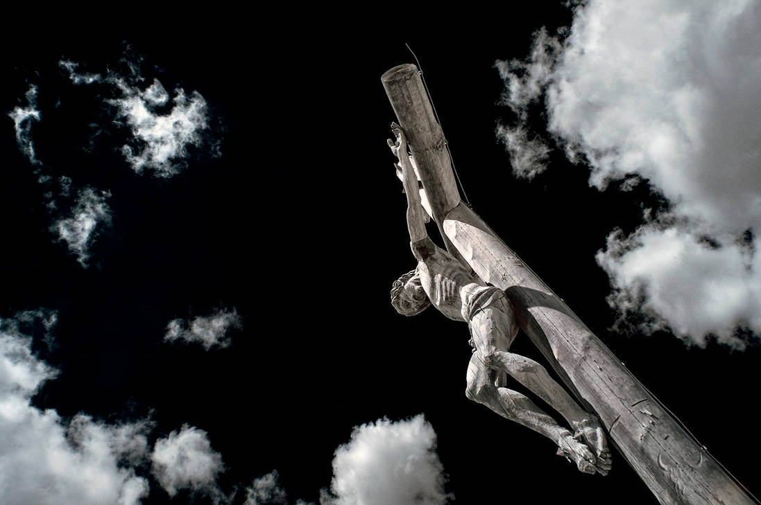 Jesus at Seceda by vw1956