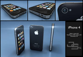 iPhone 4 by JoHnnY8901