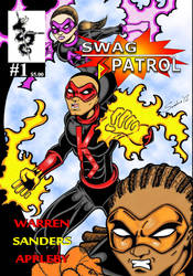 Issue 1 Cover by rubyn100