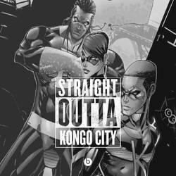 Straight Outta Kongo City by rubyn100