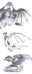 Dragon-Dragon-Quetz by aternova