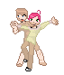 DeviXFri Couple Sprite by The-Insane-Puppeteer