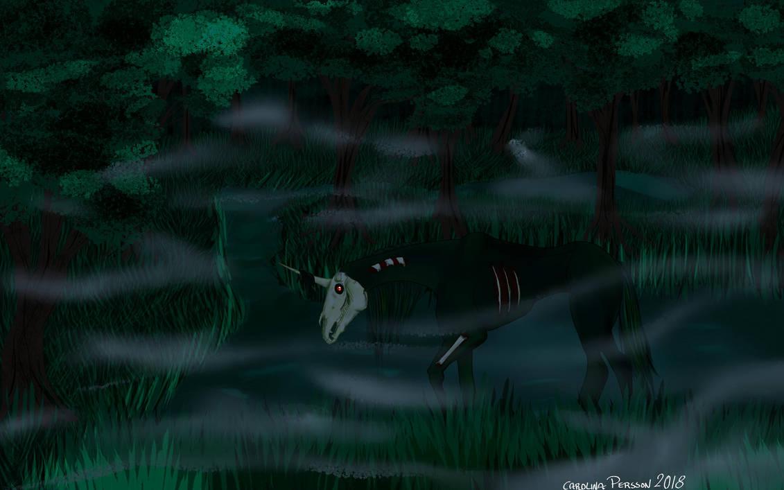 Swamp Unicorn by OceaChan