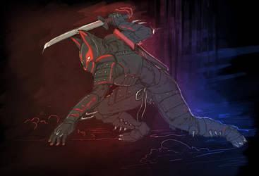 Black Fox by MekanikalTrifle
