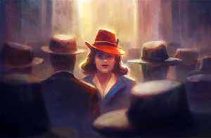 Agent Carter by AngHuiQing