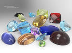 Gem Stones by zoomzoom