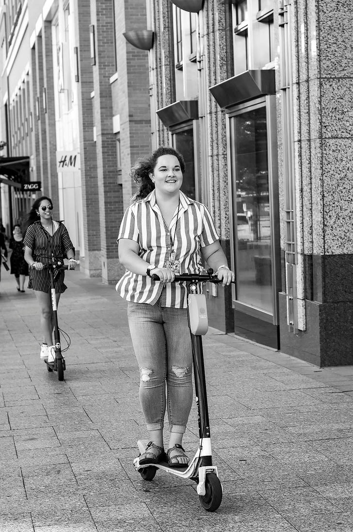 Two Wheels Girl by zoomzoom