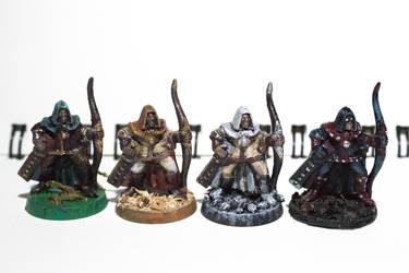 Tabletop rangers by ElliugOmrot