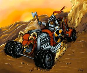 Motorized  viking by ElliugOmrot