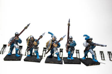 Imperial soldiers - City guards (blue) by ElliugOmrot