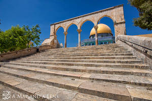 Jerusalem: Dome of the Rock by Mgsblade