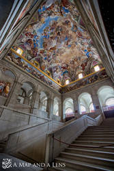 El Escorial: The Central 2nd angle by Mgsblade