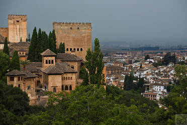 Alhambra: Across the Hill by Mgsblade