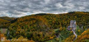 Burg Eltz Vally by Mgsblade