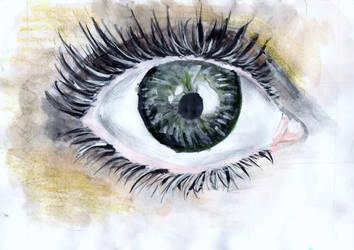 A coloured eye by kyrary666