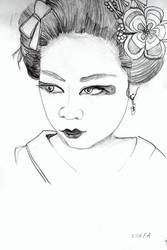 A korean girl by kyrary666