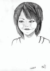 A Chinese girl by kyrary666