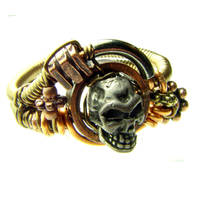 Steampunk Airship Pirate Ring by CatherinetteRings