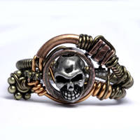 Pirate steampunk ring by CatherinetteRings