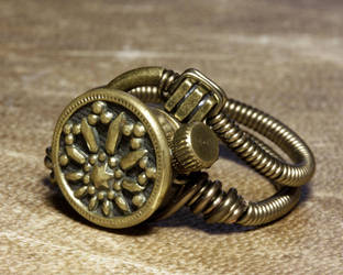 Steampunk Jewelry StarLight by CatherinetteRings