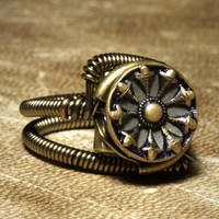 Steampunk Jewelry Ring W by CatherinetteRings