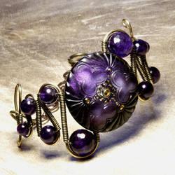 Steampunk Jewelry Bracelet A by CatherinetteRings