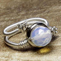 Steampunk Ring Moon 2 by CatherinetteRings
