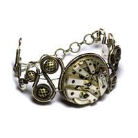 steampunk bracelet 3 by CatherinetteRings