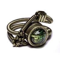 Ametrine Steampunk Ring 2 by CatherinetteRings