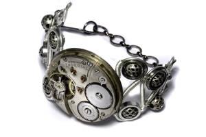 Steampunk Bracelet 5 by CatherinetteRings