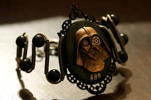 Steampunk Darth Vader Bracelet by CatherinetteRings