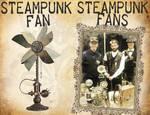 Steampunk Fans vs Fan by CatherinetteRings