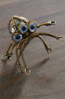 Steampunk Octopus Robot Sculpture 2 by CatherinetteRings