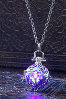 Elvish Glowing Magical Pendant by CatherinetteRings