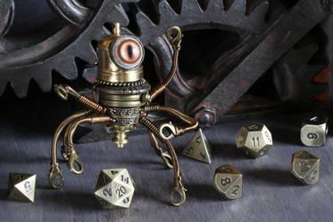 Modron Cyclopean Octopod by CatherinetteRings