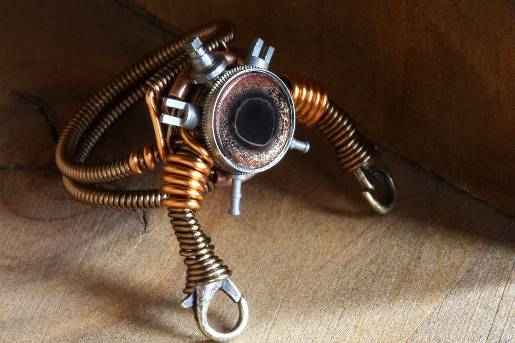 Robot Modron Ring Artifact no.37 by CatherinetteRings