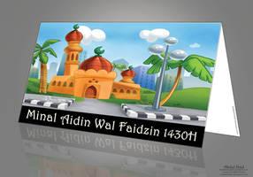 Eid ul-fitr card by BadDevilTune87